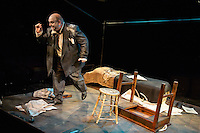 Diary of a Madman presented by Upstream Theatre at Kranzberg Arts Center in St. Louis, MO on Oct 3, 2013.
