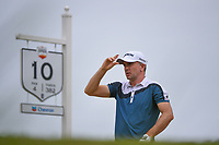 Martin Laird (SCO) looks over his tee shot on 10 during round 4 of the 2019 Houston Open, Golf Club of Houston, Houston, Texas, USA. 10/13/2019.<br /> Picture Ken Murray / Golffile.ie<br /> <br /> All photo usage must carry mandatory copyright credit (© Golffile | Ken Murray)