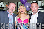 SELECTION: Francis Jones, Michelle Breen (Knocknagoshel Rose) and Donal O'O'Connor wishing Michelle all the best at the 2013 kerry Rose Selection at Ballyroe Heights Hotel, Tralee,on Friday night.