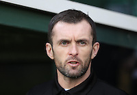 Luton Town manager Nathan Jones watches on during the Sky Bet League 2 match between Yeovil Town and Luton Town at Huish Park, Yeovil, England on 4 March 2017. Photo by Liam Smith / PRiME Media Images.