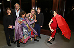 Lenny Lane, Stewart F. Lane, Anita Durst, Bonnie Comley and Frankie Lane attends the ChaShaMa 'Open Studios' Opening Night Reception on October 12, 2018 at the Brooklyn Army Terminal in Brooklyn, New York.