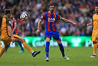 Luka Milivojevic of Crystal Palace during Crystal Palace vs Brighton & Hove Albion, Premier League Football at Selhurst Park on 14th April 2018