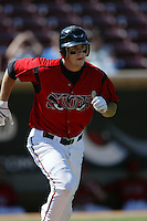 September 1 2008:  Sam Carter of the Lake Elsinore Storm during game against the High Desert Mavericks at The Diamond in Lake Elsinore,CA.  Photo by Larry Goren/Four Seam Images