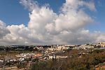 Israel, Jerusalem, A view west of Mount Scopus<br />