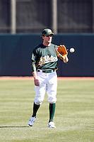 Chris Denorfia - Oakland Athletics 2009 spring training.Photo by:  Bill Mitchell/Four Seam Images