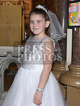 Hannah Black who received her First Holy Communion in St. Peters Church. Photo:Colin Bell/pressphotos.ie