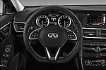 Car pictures of steering wheel view of a 2017 Infiniti QX30 Sport 5 Door SUV Steering Wheel