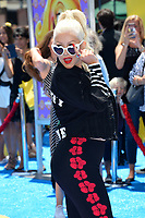 Christina Aguilera at the world premiere for &quot;The Emoji Movie&quot; at the Regency Village Theatre, Westwood. Los Angeles, USA 23 July  2017<br /> Picture: Paul Smith/Featureflash/SilverHub 0208 004 5359 sales@silverhubmedia.com