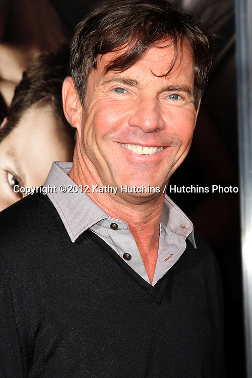 "LOS ANGELES - SEP 4:  Dennis Quaid arrives at ""The Words"" Premiere at ArcLight Cinemas on September 4, 2012 in Los Angeles, CA"
