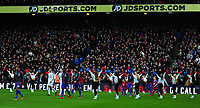 Players from Burnley and Crystal Palace make there way onto the pitch <br /> <br /> Photographer Ashley Crowden/CameraSport<br /> <br /> The Premier League - Crystal Palace v Burnley - Saturday 13th January 2018 - Selhurst Park - London<br /> <br /> World Copyright &copy; 2018 CameraSport. All rights reserved. 43 Linden Ave. Countesthorpe. Leicester. England. LE8 5PG - Tel: +44 (0) 116 277 4147 - admin@camerasport.com - www.camerasport.com