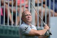 Former England International Mike Tindall during The 2017 Celebrity Cup golf tournament at the Celtic Manor Resort, Newport, South Wales. 1.07.2017 <br /> <br /> <br /> Jeff Thomas Photography -  www.jaypics.photoshelter.com - <br /> e-mail swansea1001@hotmail.co.uk -<br /> Mob: 07837 386244 -