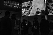 Greg Costantine's photographs of Burma's Rohingya are projected onto the walls at the Holocaust Museum in Washington, DC.