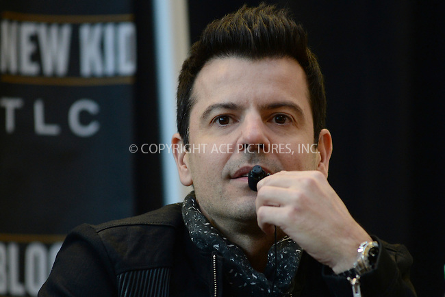 WWW.ACEPIXS.COM<br /> January 20, 2015 New York City<br /> <br /> Jordan Knight attending a New Kids on The Block Press Conference at Madison Square Garden on January 20, 2015 in New York City. <br /> <br /> By Line: Kristin Callahan/ACE Pictures<br /> ACE Pictures, Inc.<br /> tel: 646 769 0430<br /> Email: info@acepixs.com<br /> www.acepixs.com