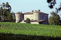 vineyard chateau de castelnau entre deux mers bordeaux france