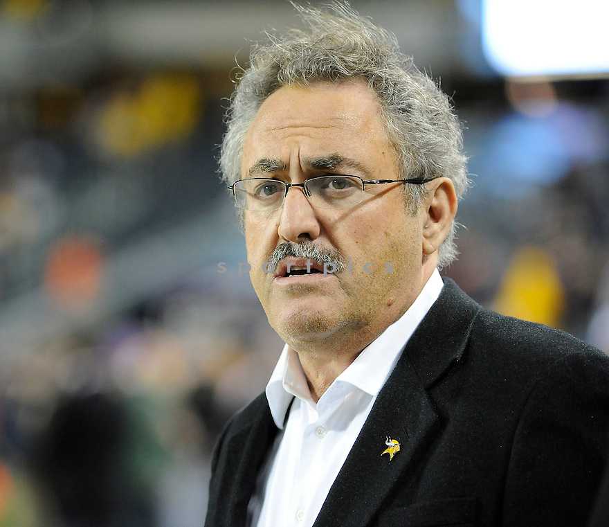 ZYGI WILF, of the Minnesota Vikings in action, during the Vikings game against the Chicago Bears on October 16, 2011 at Soldier Field in Chicago, IL. The Bears beat the Vikings 39-10.