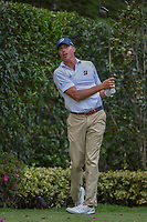 Matt Kuchar (USA) watches his tee shot on 17 during round 2 of the World Golf Championships, Mexico, Club De Golf Chapultepec, Mexico City, Mexico. 2/22/2019.<br /> Picture: Golffile | Ken Murray<br /> <br /> <br /> All photo usage must carry mandatory copyright credit (&copy; Golffile | Ken Murray)