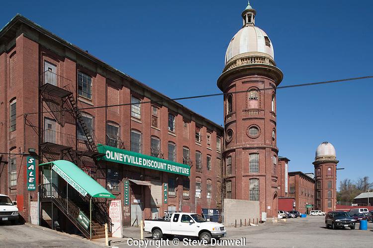 Atlantic Mills, Olneyville, RI (near Providence)