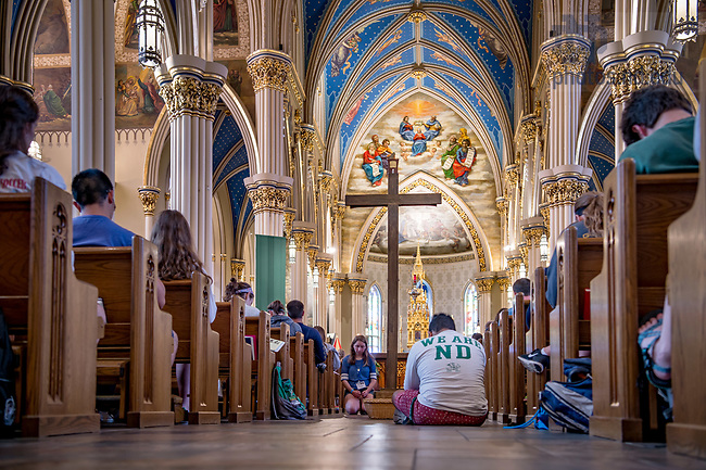 June 27, 2017; ND Vision reconciliation service (Photo by Matt Cashore/University of Notre Dame)