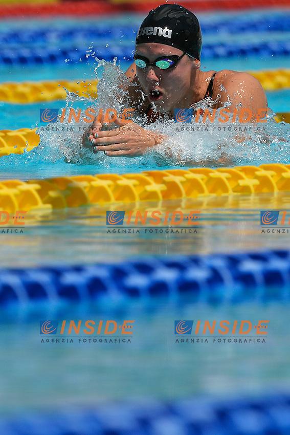 Moniek Nijhuis Nederland 50m Breaststroke Women <br /> Roma 14/6/2013 Piscina del Foro Italico <br /> Nuoto 50mo trofeo Settecolli<br /> Settecolli 50th International swimming trophy <br /> Foto Andrea Staccioli Insidefoto