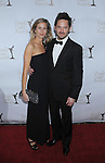 CENTURY CITY, CA. - February 20: Scott Cooper and wife Jocelyn Cooper  arrive at the 2010 Writers Guild Awards at the Hyatt Regency Century Plaza Hotel on February 20, 2010 in Los Angeles, California.