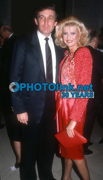 Donald Trump and wife Ivana Trump circa 1980's<br /> Photo By John Barrett/PHOTOlink