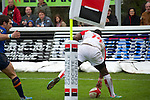 biarritz. pais vasco. rugby<br /> rugby match during the rugby french league, 02-03-14<br /> En la imagen :<br /> ngwenya<br /> photocall3000 / rme