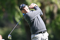 02/16/12 Pacific Palisades, CA: Fred Couples during the first round of the Northern Trust Open held at the Riviera Country Club