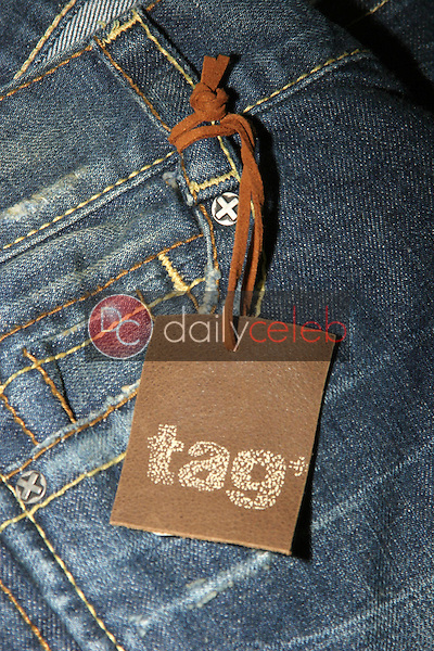 """Tag Jeans<br />at the 1st Annual """"Sober Day USA"""" Gift Bag Photo Shoot of donations by M.B. York, Croton, Ed Hardy, Tag Jeans and Claridges. Standard Hotel Hollywood, West Hollywood, CA. 05-01-06<br />Dave Edwards/DailyCeleb.com 818-249-4998"""