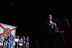 MIAMI, FL - APRIL 19: DNC Chair Tom Perez speaks during a 'Come Together and Fight Back' tour at the James L Knight Center on April 19, 2017 in Miami, Florida. Mr. Perez and Sen. Bernie Sanders (I-VT) spoke on topics  about raising the minimum wage, pay equity for women, making public colleges and universities tuition-free, comprehensive immigration reform and tax reform which demands that the wealthy and large corporations start paying their fair share of taxes.. ( Photo by Johnny Louis / jlnphotography.com )