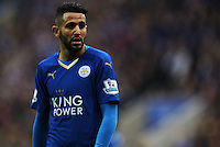 Riyad Mahrez of Leicester City during the Barclays Premier League match between Leicester City and Swansea City played at The King Power Stadium, Leicester on April 24th 2016