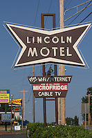 The Lincoln Motel in Chandler Oklahoma, is a Route 66 icon, still in operation.