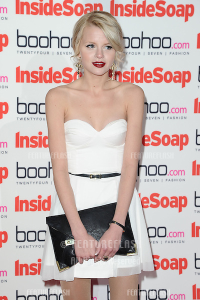 Hetti Bywater arriving for the 2012 Inside Soap Awards, at No.1 Marylebone, London. 24/09/2012 Picture by: Steve Vas / Featureflash