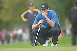 Ryder Cup 206 K Club, Straffan, Ireland..European Ryder Cup team player Sergio Garcia on the edge of the 9th green during the morning fourballs session of the second day of the 2006 Ryder Cup at the K Club in Straffan, Co Kildare, in the Republic of Ireland, 23 September 2006...Photo: Eoin Clarke/ Newsfile.