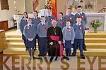 CONFIRMATION:Photographed after being confirmed by Bishop Murphy at the Church Of The Immaculate Conception, Glin on Friday were Roisin Horan, Tara Flavin, Sarah Mulvihill, Loraine Shine, Laura Enright, Paul Greaney, Eoin Hanrahan, Robert Culhane, Johnny Walsh and Kieran Hanrahan.   Copyright Kerry's Eye 2008