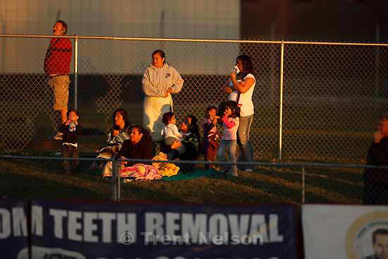 fans. Davis defeats Pleasant Grove 17-9 in high school football playoff action, Friday, November 6 2009 in Kaysville.