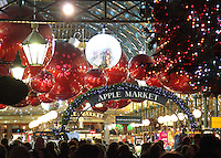 Covent Garden - Full of baubles, bangles,sparkly lights and trees - All dressed for Christmas, London - December 7th 2012<br /> <br /> Photo by Keith Mayhew