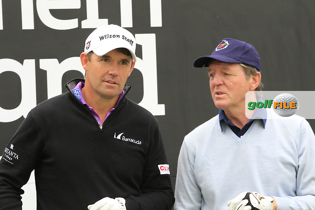 \{prsn}\  during the Pro-Am of the 2015 Dubai Duty Free Irish Open, Royal County Down Golf Club, Newcastle Co Down, Northern Ireland. 27/05/2015 <br /> Picture Eoin Clarke, www.golffile.ie