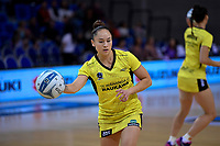 Pulse' Whitney Souness the ANZ Premiership - Pulse v Stars at Te Rauparaha Arena, Porirua, New Zealand on Wednesday 3 April 2019. <br /> Photo by Masanori Udagawa. <br /> www.photowellington.photoshelter.com