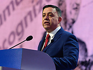 Washington, DC - March 4, 2018: Avi Gabbay, leader of the Israeli Labor Party, addresses attendees of the 2018 American Israel Public Affairs Committee (AIPAC) Public Policy Conference at the Washington Convention Center March 4, 2018.  (Photo by Don Baxter/Media Images International)