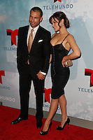 New York, NY -  May 13 : Rafael Amaya and Angelica Celaya attend Telemundo's 2014 Upfront in New York<br /> held at Jazz at Lincoln Center's Frederick P. Rose Hall<br /> on May 13, 2014 in New York City. Photo by Brent N. Clarke / Starlitepics
