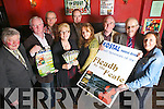 Showing great support for Abbeyfeale Fleadh by the Feale launch to take place over the May bank holiday weekend pictured here last Thursday night in Murphy's Bar, Abbeyfeale, pictured l-r: Kieran Curtin(Treasurer), Vincent Sheehy(Sheehy's Hardware), John Mangan(Kostal), Maureen Murphy(secretary), Paul Morris(Kostal), Marie Kennelly(AIB), Pat Quille(Chairperson), John O'Sullivan(committee) and Norma O'Neill Collins(Pro-Active Finance).