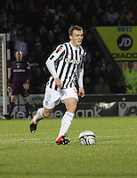 David Barron in the St Mirren v Kilmarnock Clydesdale Bank Scottish Premier League match played at St Mirren Park, Paisley on 2.1.13.
