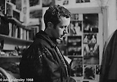 """John Walmsley, photography student from Guildford School of Art, on one of his visits to the school, Summerhill school, Leiston, Suffolk, UK. 1968.  He was working on his final year project which was published by Penguins in 1969 as """"Neill & Summerhill: A Man and his Work""""."""