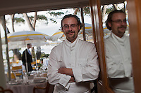 Europe/France/Provence -Alpes-Cote d'Azur/83/Var/Saint-Tropez:   Arnaud Donkèle chef du restaurant: La Pinède [Non destiné à un usage publicitaire - Not intended for an advertising use]