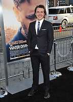 Ben O'Toole at the Los Angeles premiere of his movie &quot;The Water Diviner&quot; at the TCL Chinese Theatre, Hollywood.<br /> April 16, 2015  Los Angeles, CA<br /> Picture: Paul Smith / Featureflash