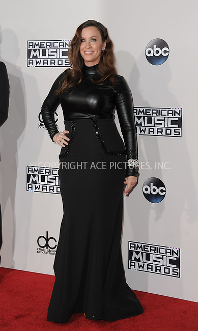 WWW.ACEPIXS.COM<br /> <br /> November 22 2015, LA<br /> <br /> Alanis Morissette arriving at the 2015 American Music Awards at the Microsoft Theater on November 22, 2015 in Los Angeles, California.<br /> <br /> By Line: Peter West/ACE Pictures<br /> <br /> <br /> ACE Pictures, Inc.<br /> tel: 646 769 0430<br /> Email: info@acepixs.com<br /> www.acepixs.com