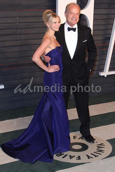 28 February 2016 - Beverly Hills, California - Kayte Grammer, Kelsey Grammer. 2016 Vanity Fair Oscar Party hosted by Graydon Carter following the 88th Academy Awards held at the Wallis Annenberg Center for the Performing Arts. Photo Credit: AdMedia