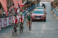 Team Polska<br /> <br /> MEN UNDER 23 ROAD RACE<br /> Kufstein to Innsbruck: 180 km<br /> <br /> UCI 2018 Road World Championships<br /> Innsbruck - Tirol / Austria