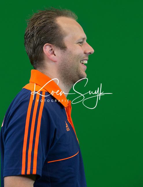 DEN BOSCH - STEIJN SPREIJ . Nederlands Hockeyteam  voor nieuwe platform Hockey.nl.    FOTO KOEN SUYK