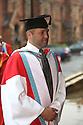 Honorary Graduand Colum McCann. Photo/Paul McErlane